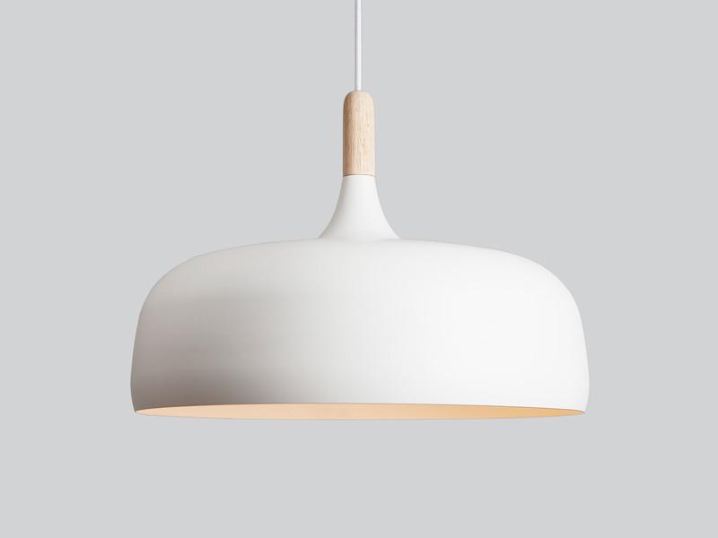 northern lighting acorn pendant light - white OSUQTCF