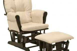 nursery glider storkcraft espresso/beige tuscany uphosltered glider and ottoman GKQXATF