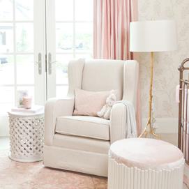 nursery glider upholstered nursery chairs u0026 gliders MKAOGJV