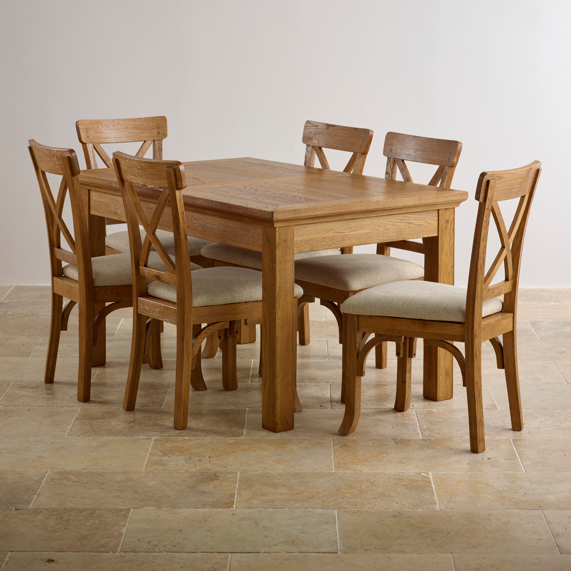 Oak table and chair- durable and versatile