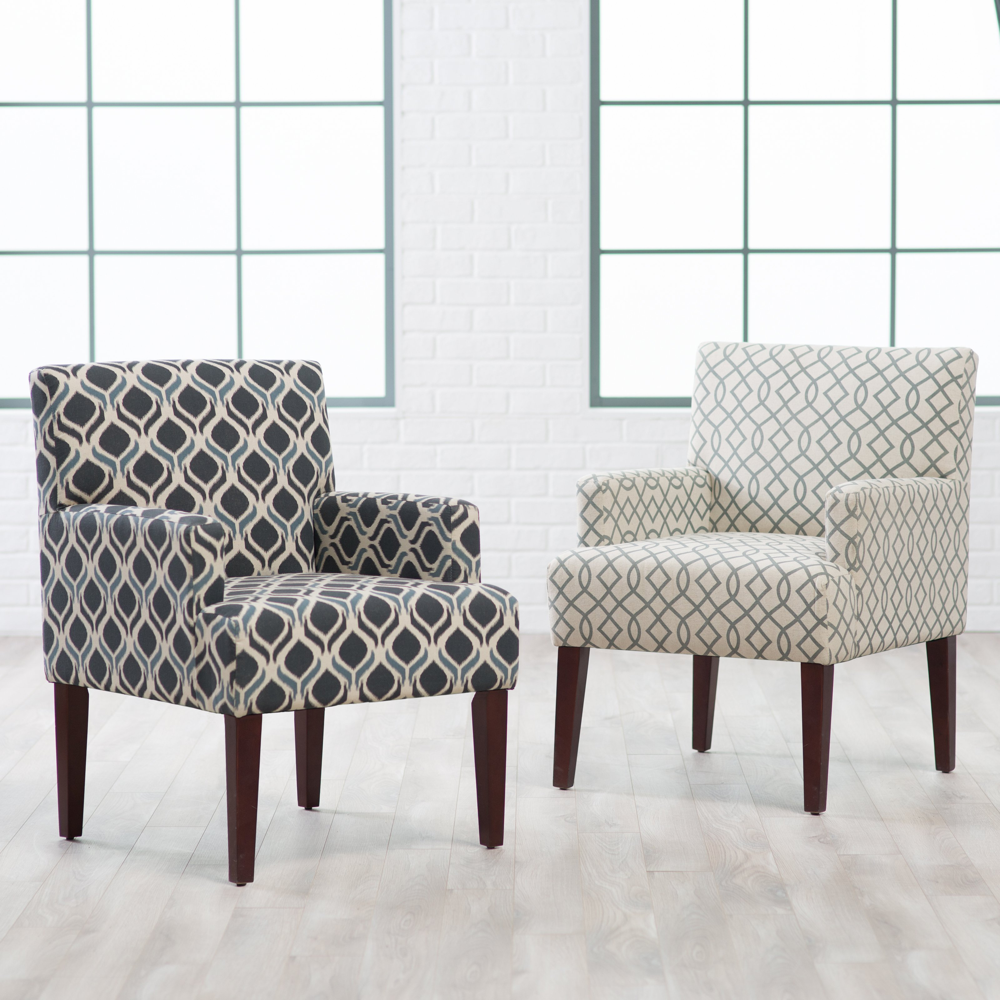 occasional chairs belham living geo accent chair with arms - accent chairs at hayneedle VKRWQGI