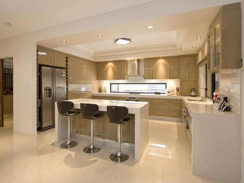 open plan kitchen 16 open concept kitchen designs in modern style that will beautify your home PIKGXXX