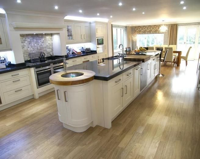 open plan kitchen design NLGEVAL
