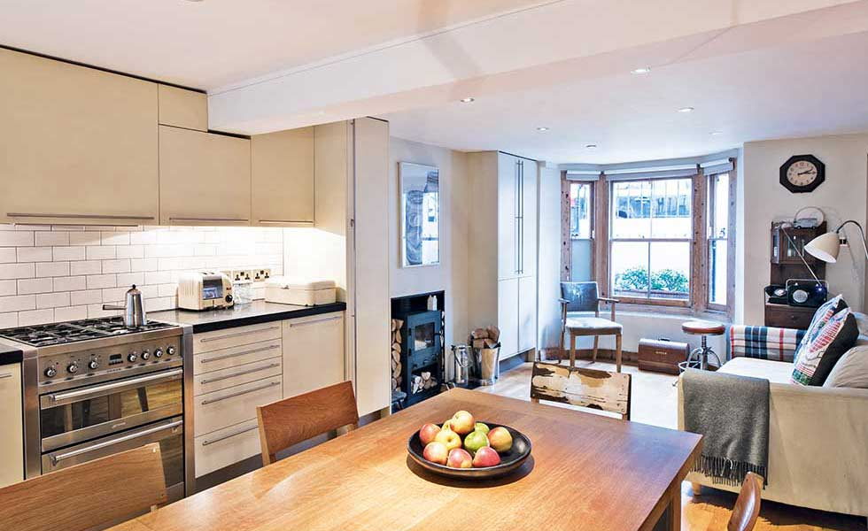 open plan kitchen glazed extension with open plan living HEQYVYQ