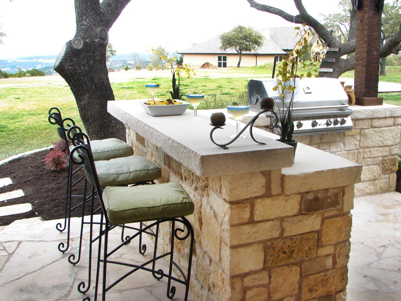 outdoor bar outdoor kitchen bar ideas: pictures, tips u0026 expert advice | hgtv OUTJRFM
