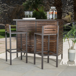 outdoor bar patio bar sets JGKUVOL