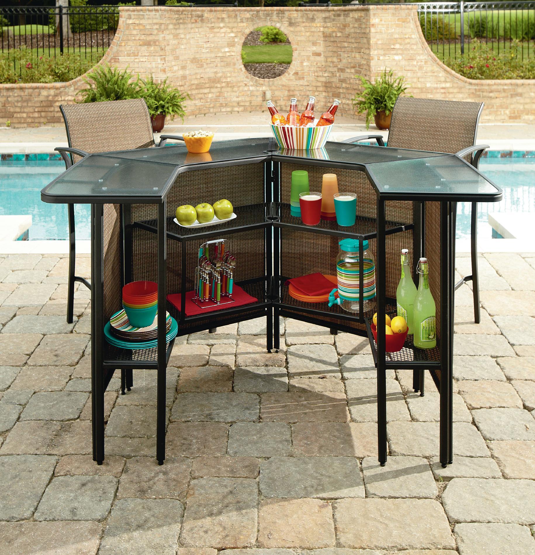 Outdoor bar set garden oasis harrison 5 piece bar set *limited availability* 2 MOPIKPX