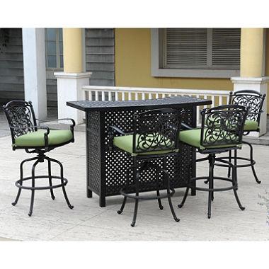 Outdoor bar set renaissance outdoor bar set - 5 pc. OTJKPZN