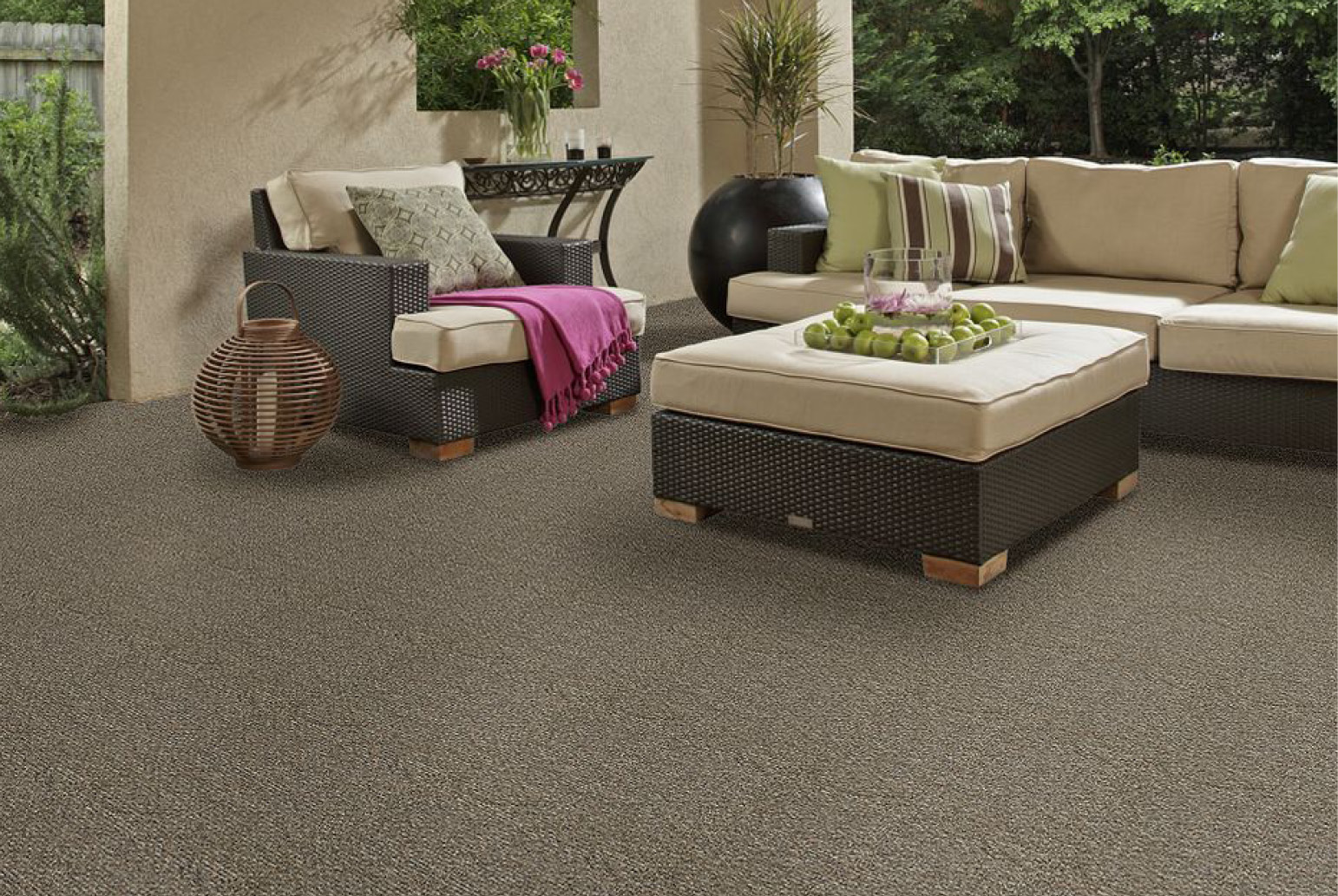 outdoor carpet is a wonderful option when it comes to outdoor patio flooring LFNRMJY