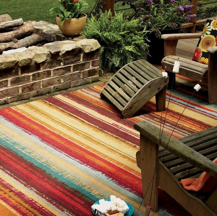 outdoor carpets colorful striped indoor outdoor rug ZWYFNTX