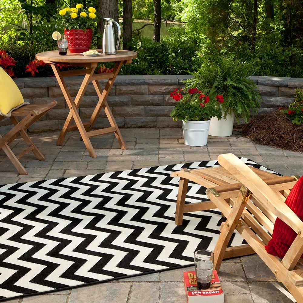 outdoor carpets fabulous white and black chevron pattern lowes indoor outdoor rugs combined  with AKVISYG