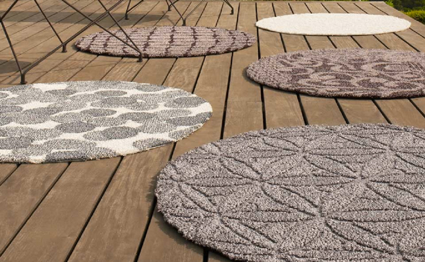 outdoor carpets these are indoor worthy carpets-generously-sized square, rectangular and  round shapes in a MASLSSU
