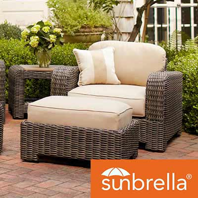 outdoor cushions sunbrella cushions ZJOEVWY