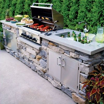 outdoor kitchen plans 31 insanely cool ideas to upgrade your patio this summer MXIQDNG