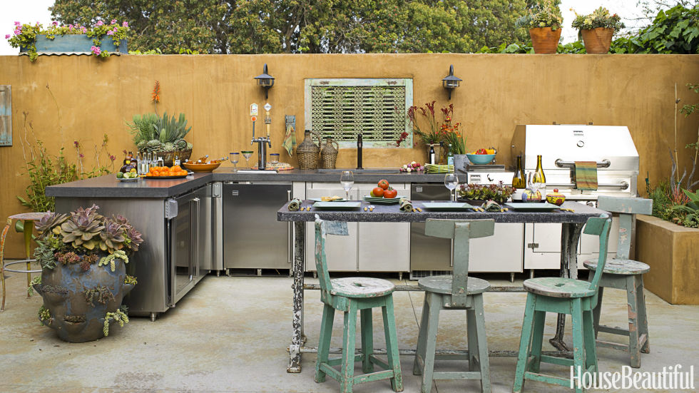 outdoor kitchens 20 outdoor kitchen design ideas and pictures IIESTBQ