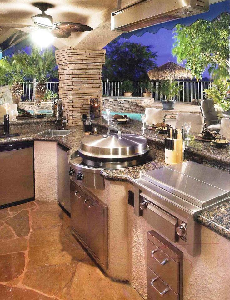 outdoor kitchens 70 awesomely clever ideas for outdoor kitchen designs FRFDMCB
