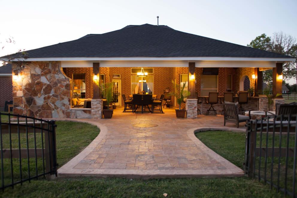 outdoor living space OHWZIOZ