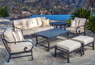 outdoor patio furniture sets patio furniture collections. seating sets GNEZWXY