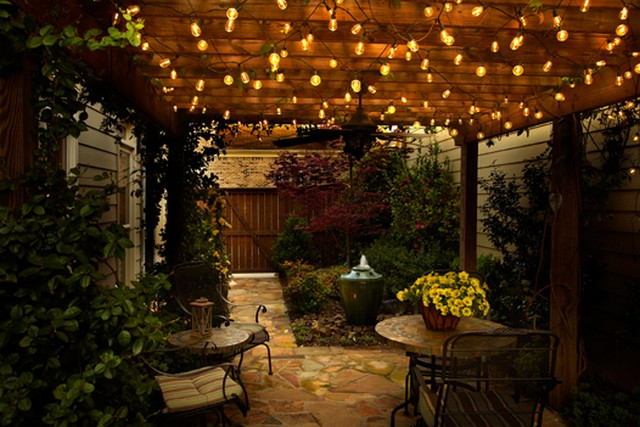 outdoor patio lights ideas landscape lighting ideas hgtv beautiful patio  light ideas FYRAEDR
