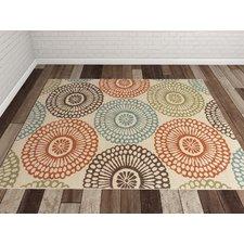 outdoor rug douane orange/brown area rug GGYYRMV