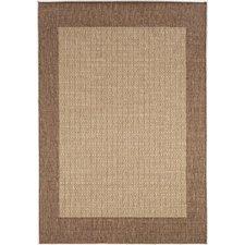 outdoor rug westlund checkered field brown indoor/outdoor area rug UEUOUWY