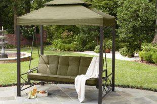 outdoor swings garden oasis 3-person gazebo swing *limited availability* GOJAIDG