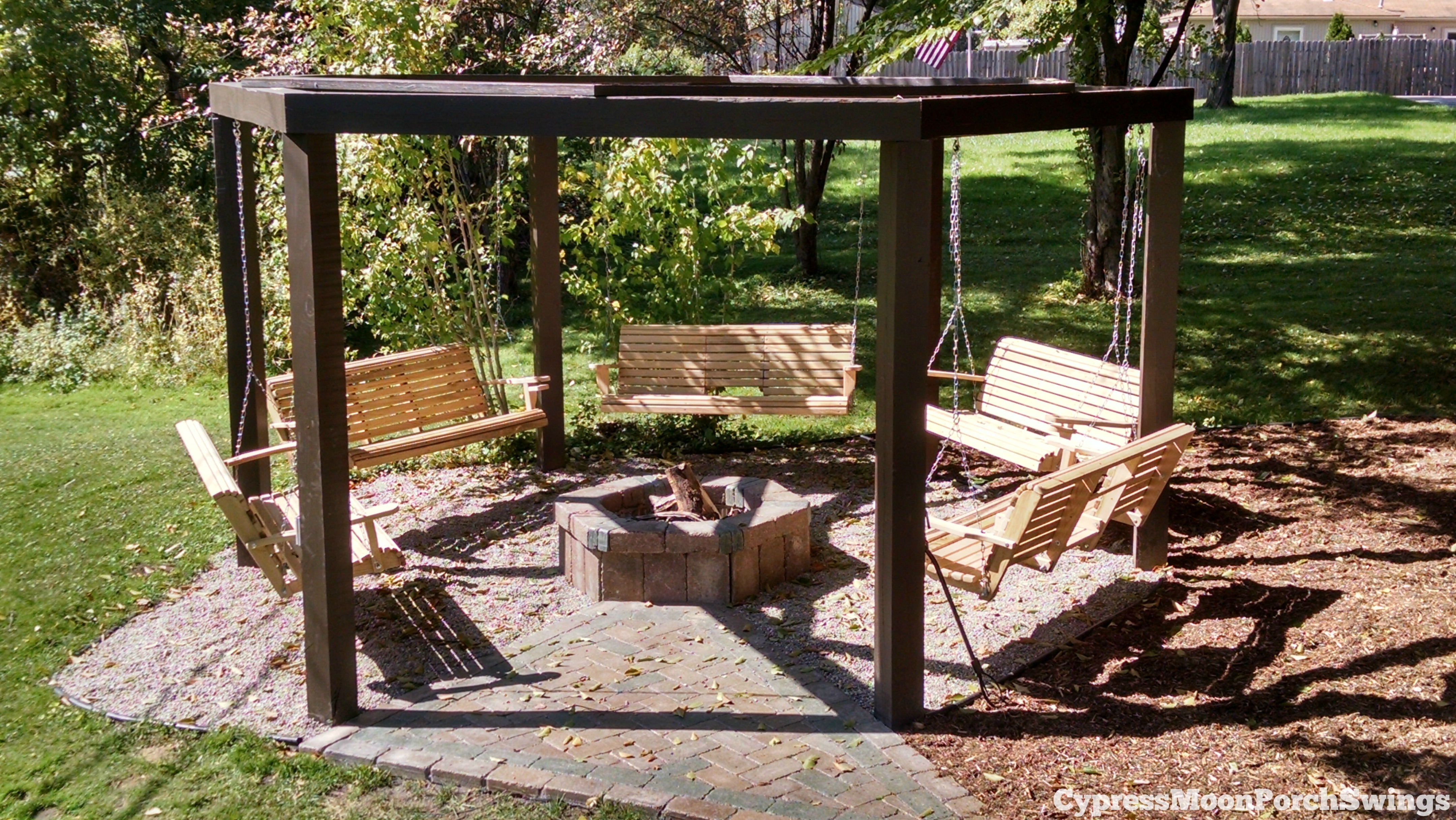 outdoor swings porch swings fire pit circle - porch swings - patio swings - outdoor ZFNXTDM