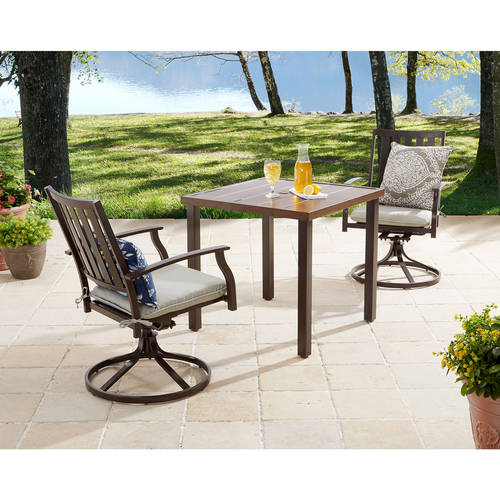 outdoor table and chairs patio furniture - walmart.com OWJBOKS