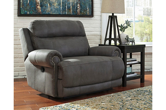 oversized recliners home; austere oversized recliner. living room decorating idea RUPTMVN