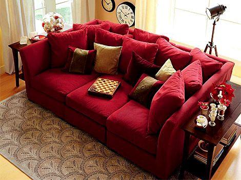 oversized sofa le canapé se fait géant ! GHFMSZH