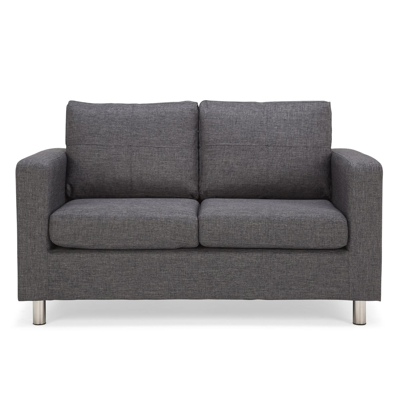 oxford fabric 2 seater sofa HTJXQER