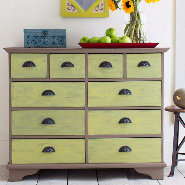 painted furniture ideas diy chalk paint furniture ideas with step by step tutorials - chalk finish IWOCSDL