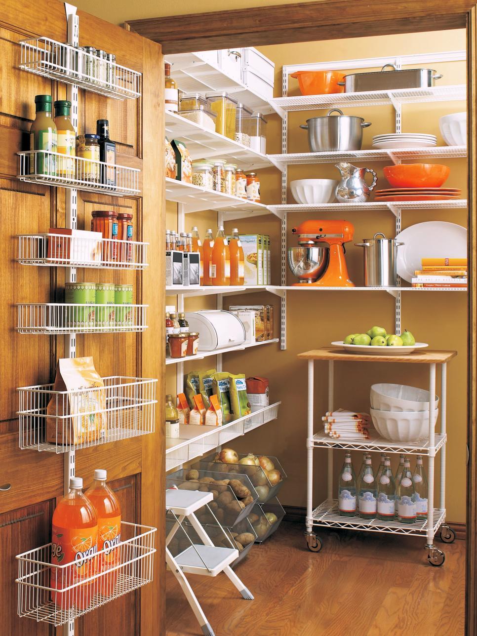 Pantry storage flatware storage GEUCMWZ