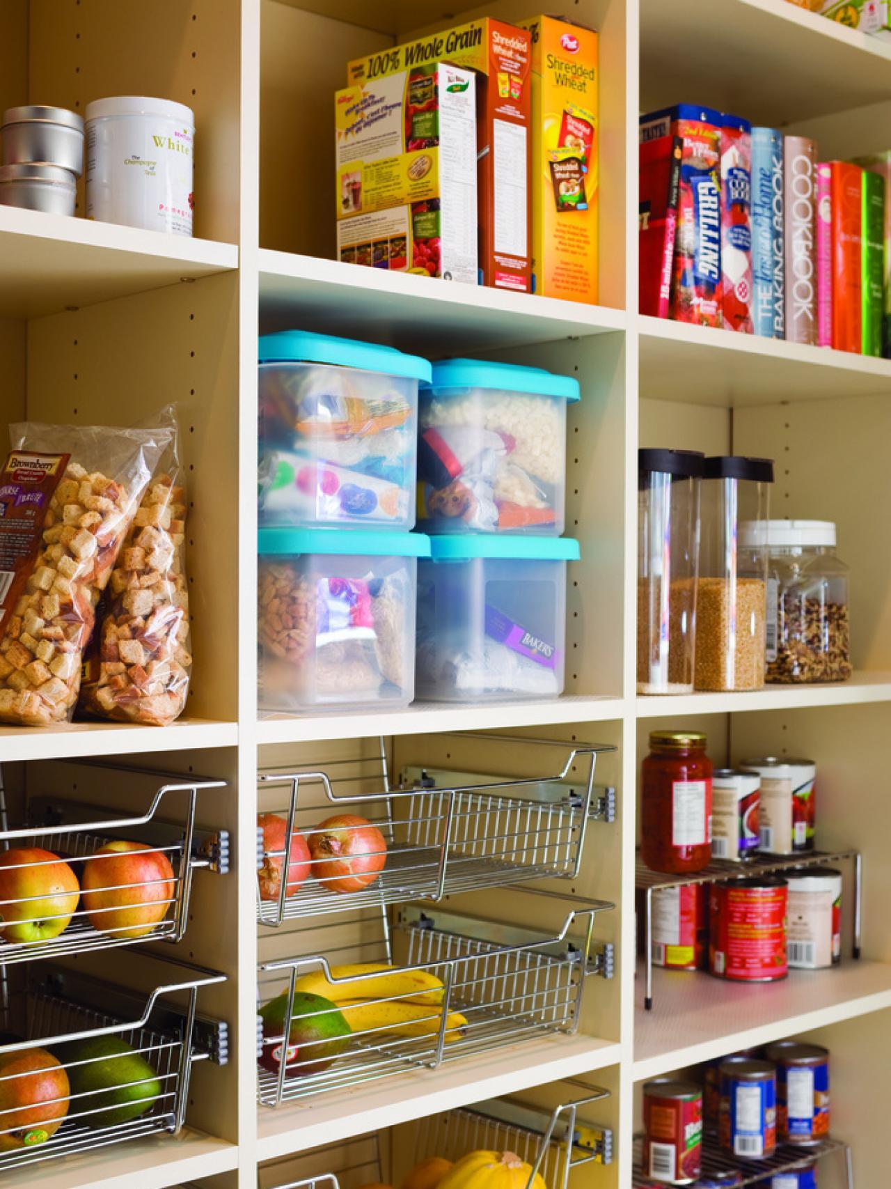 pantry storage pantry organization and storage ideas EAJCBBR