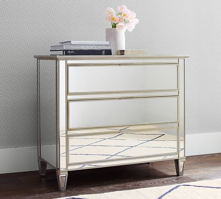 park mirrored dresser | pottery barn LSBPYYX