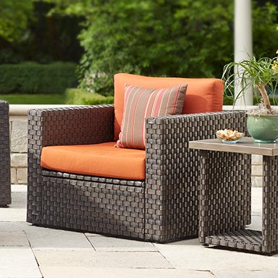 Patio chair cushions- accessories for designing a patio