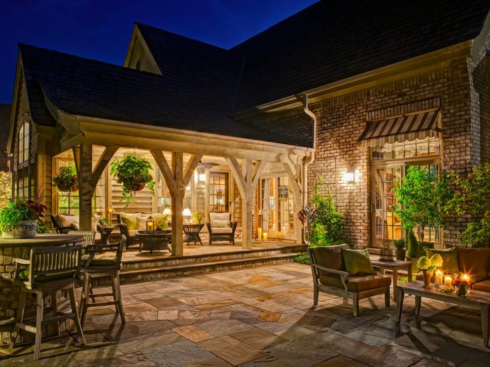 patio design patio ideas | hgtv GXRDFBW