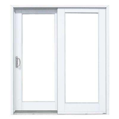 patio doors composite gliding patio door with woodgrain interior SZPJKAB