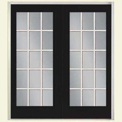 patio doors prehung 15 lite fiberglass patio door ... CUKQIAZ