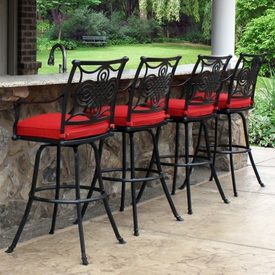 patio furniture clearance salina bar height stools set of two by leisure select IVSUHBV