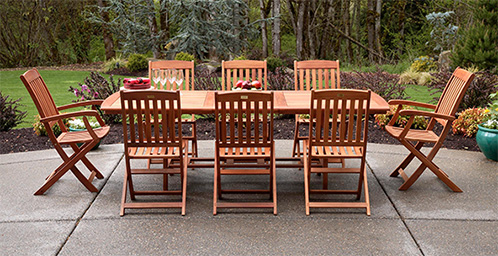 patio table and chairs patio furniture dining sets EKCNYRV