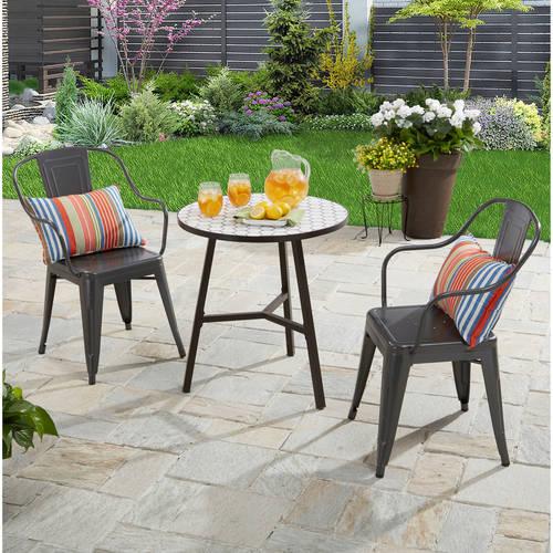 patio table and chairs patio furniture - walmart.com DWBGLQJ