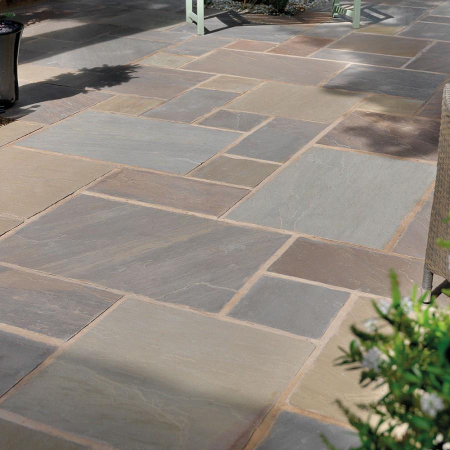 pavestone paving-riven sandstone-raj blend-paving slabs FQXLBCI