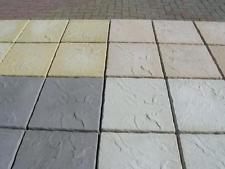 paving slabs concrete paving patio slabs - 4 colours - 450mmx450mmx38mm PAJXRCO