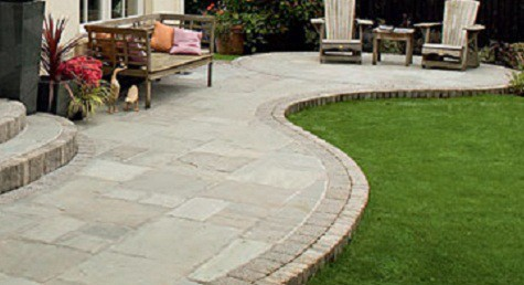 How to make a strong and classy paving slab