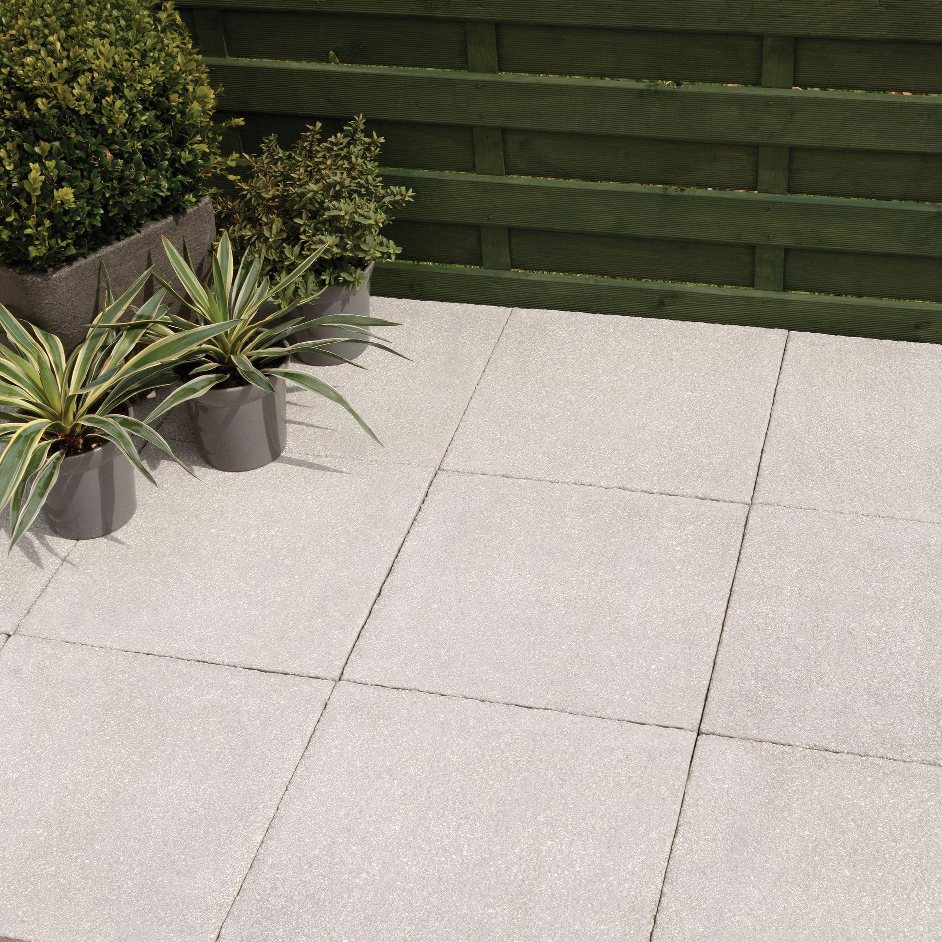 paving slabs grey textured single paving slab (l)450mm (w)450mm | departments | diy at EMJYAPM