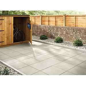 paving slabs marshalls richmond smooth natural 450 x 450 x 32mm paving slab MKWYURE
