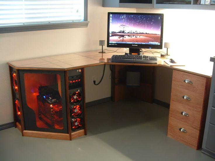 pc desk coolest pc/desk ever! AFNURDN