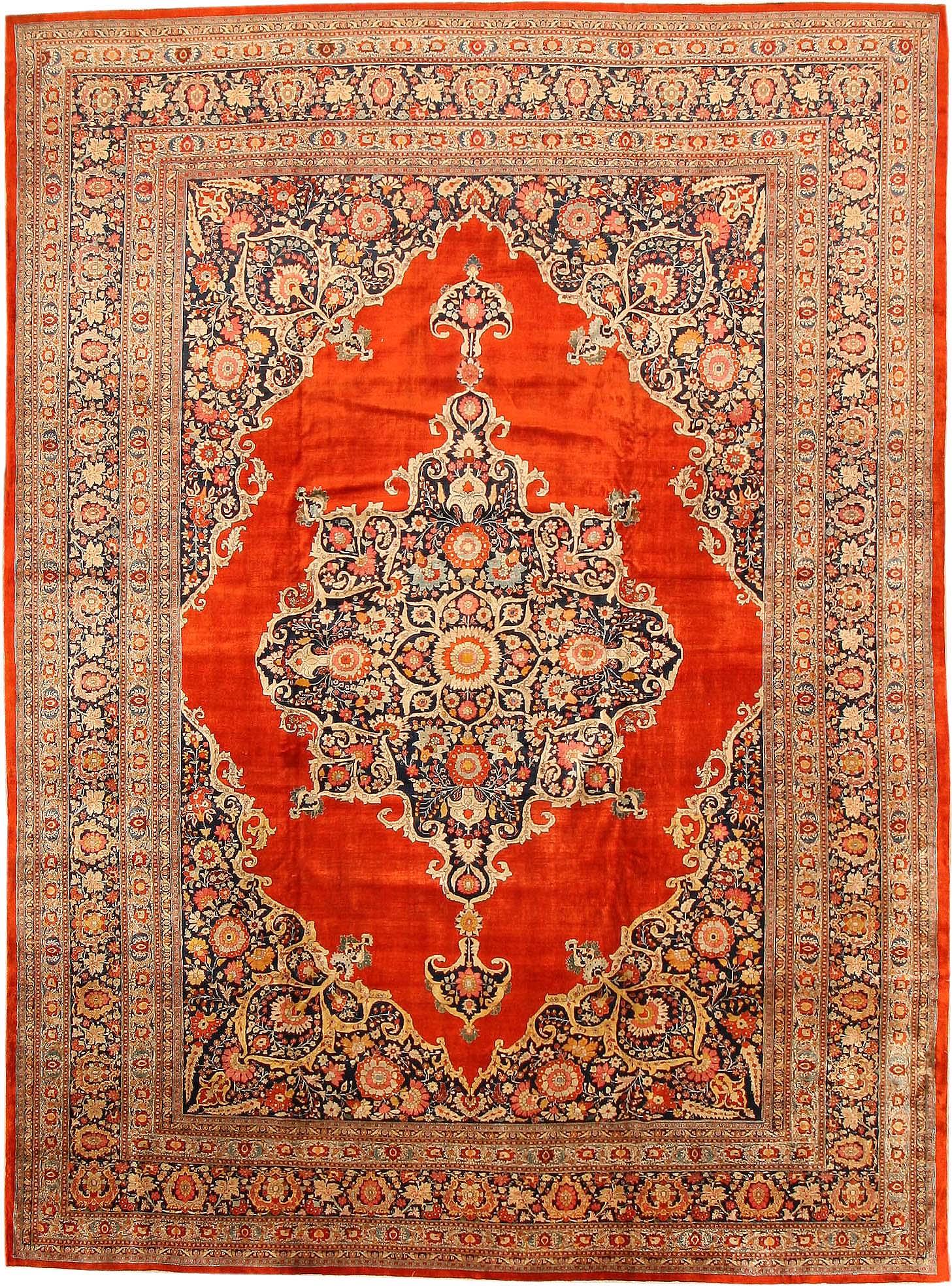 persian carpet fine antique persian silk tabriz rug 7991 by nazmiyal UULQTXR