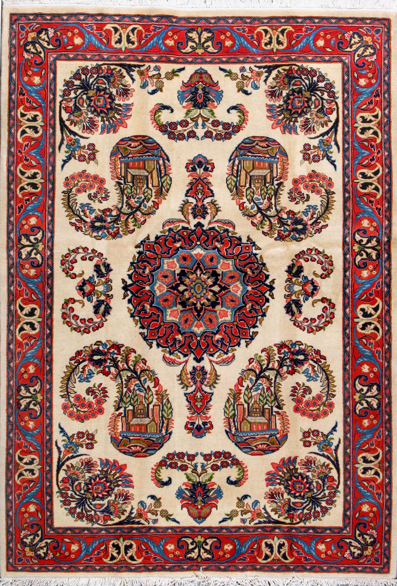 From across the ocean: persian carpets